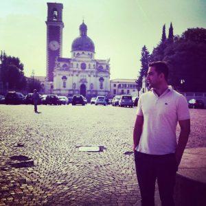Από το πρόσφατο ταξίδι του στην Ιταλία