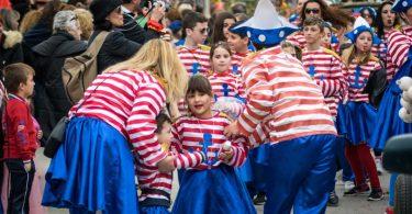 καρναβάλι των Μικρών στην Κάτω Αχαΐα