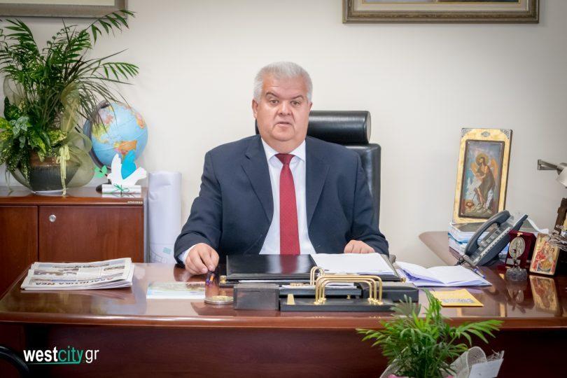 συνέντευξη του Δήμαρχου , ΔΕ Λαρισου Δυτικής Αχαΐας