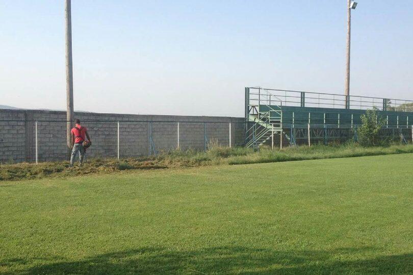 γήπεδο των Σαγείκων , καθαρίστηκε το γήπεδο Σαγεΐκων