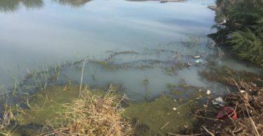 μόλυνση του ποταμού Πείρου