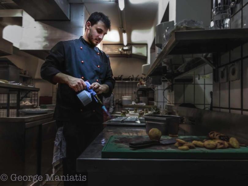Vin Resto Bar , Γιώργος Μανιάτης , σεφ Γιώργος Μανιάτης