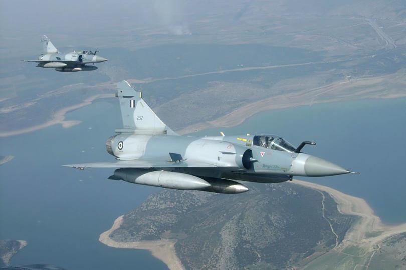 Πτώση στρατιωτικού αεροσκάφους